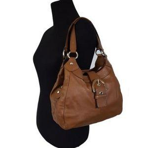 Coach Brown Leather Soho Shoulder Bag